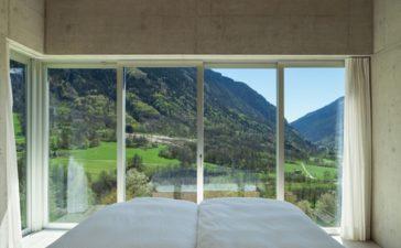 grote glazen ramen