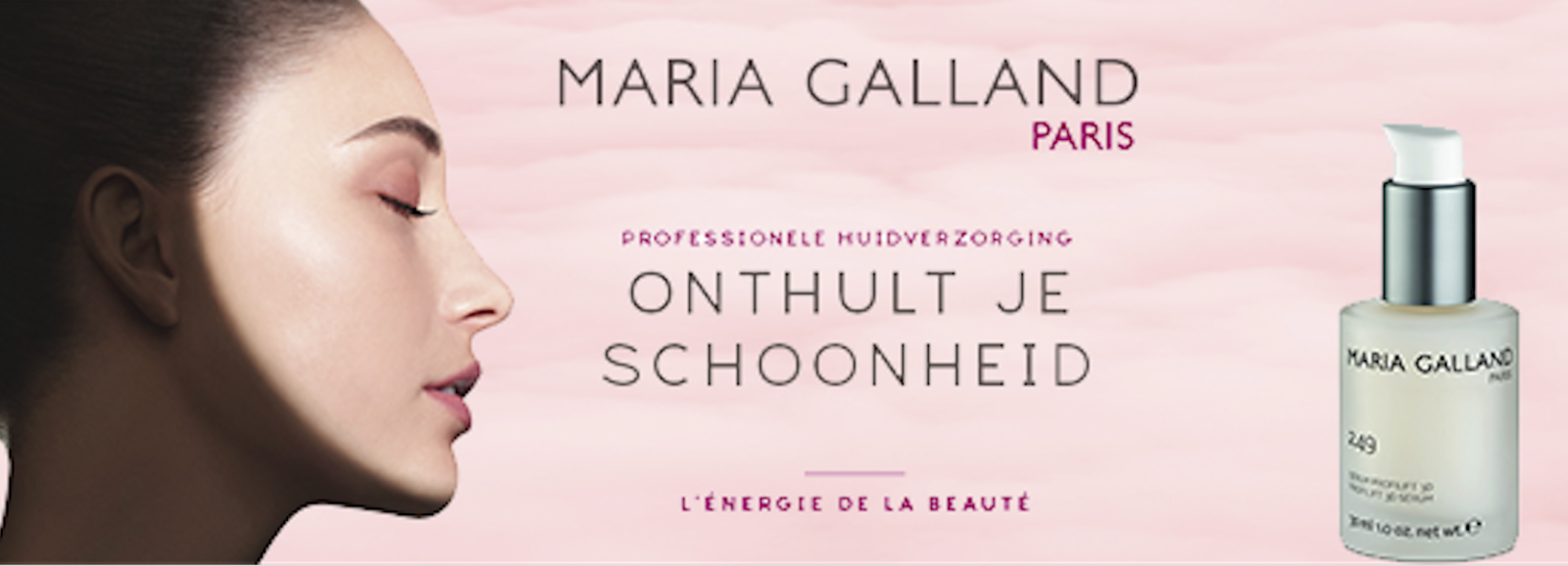 Maria Galland Onthult je schoonheid