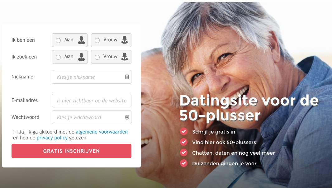 Vijftig plus dating